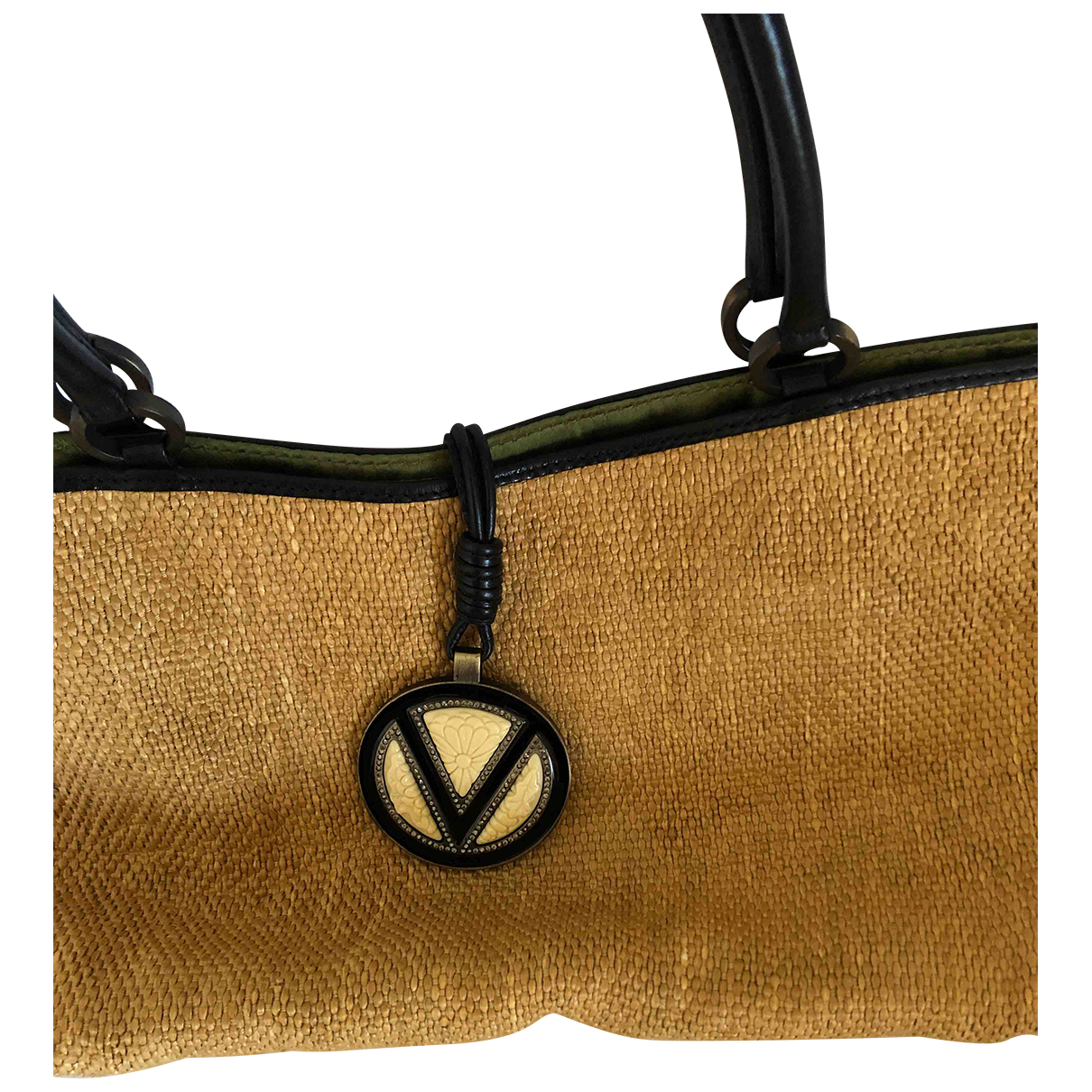 Valentino Garavani \N Beige Cloth handbag for Women \N