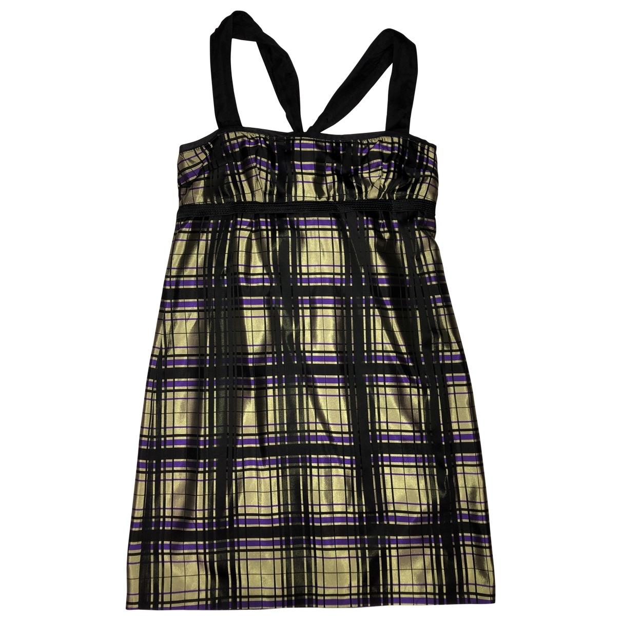 Cnc \N Kleid in  Bunt Polyester