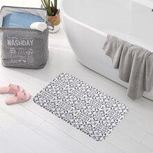 Bodenmatte mit Grafik Muster