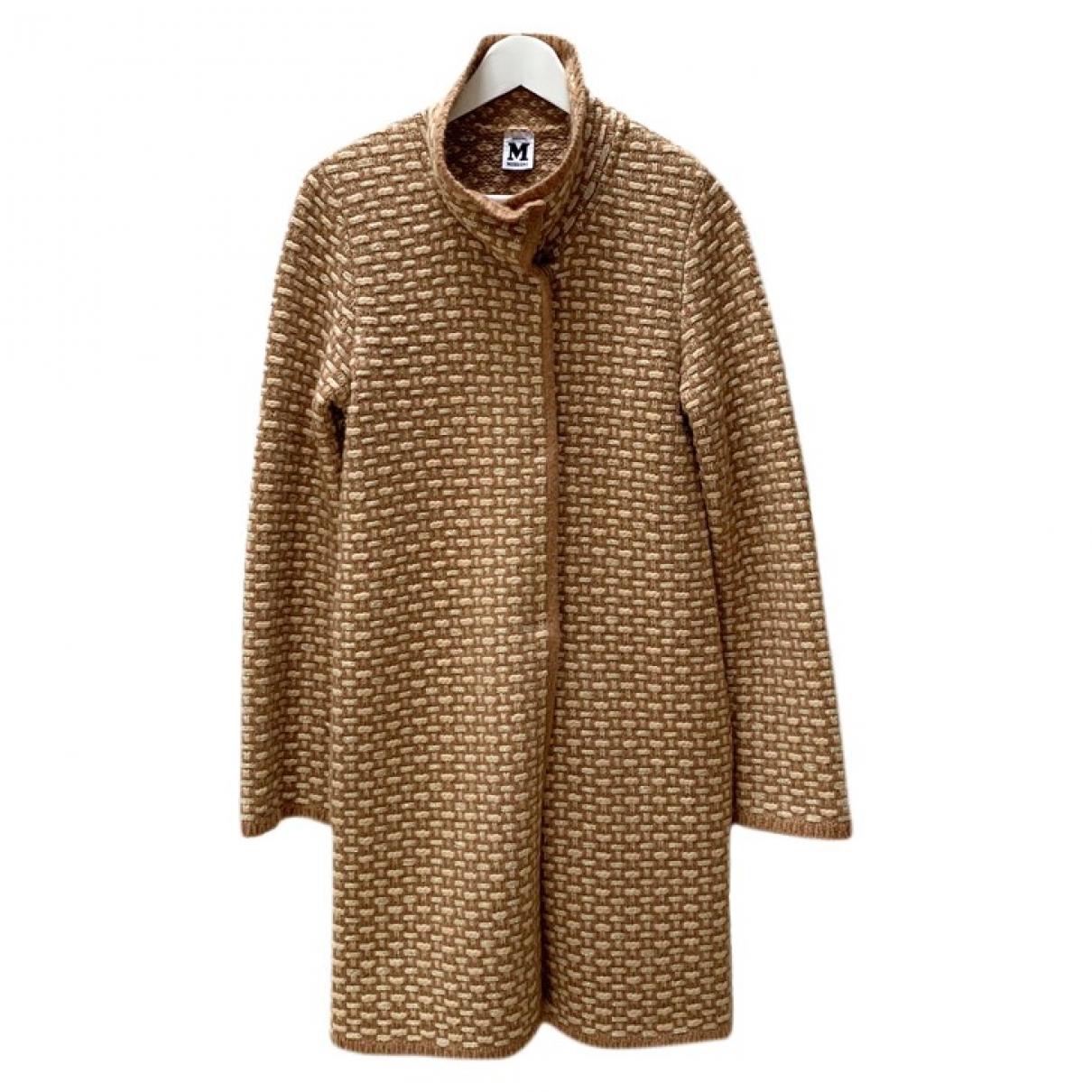 M Missoni \N Brown Wool coat for Women 8 UK