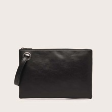 Minimalist Clutch Bag With Wristlet