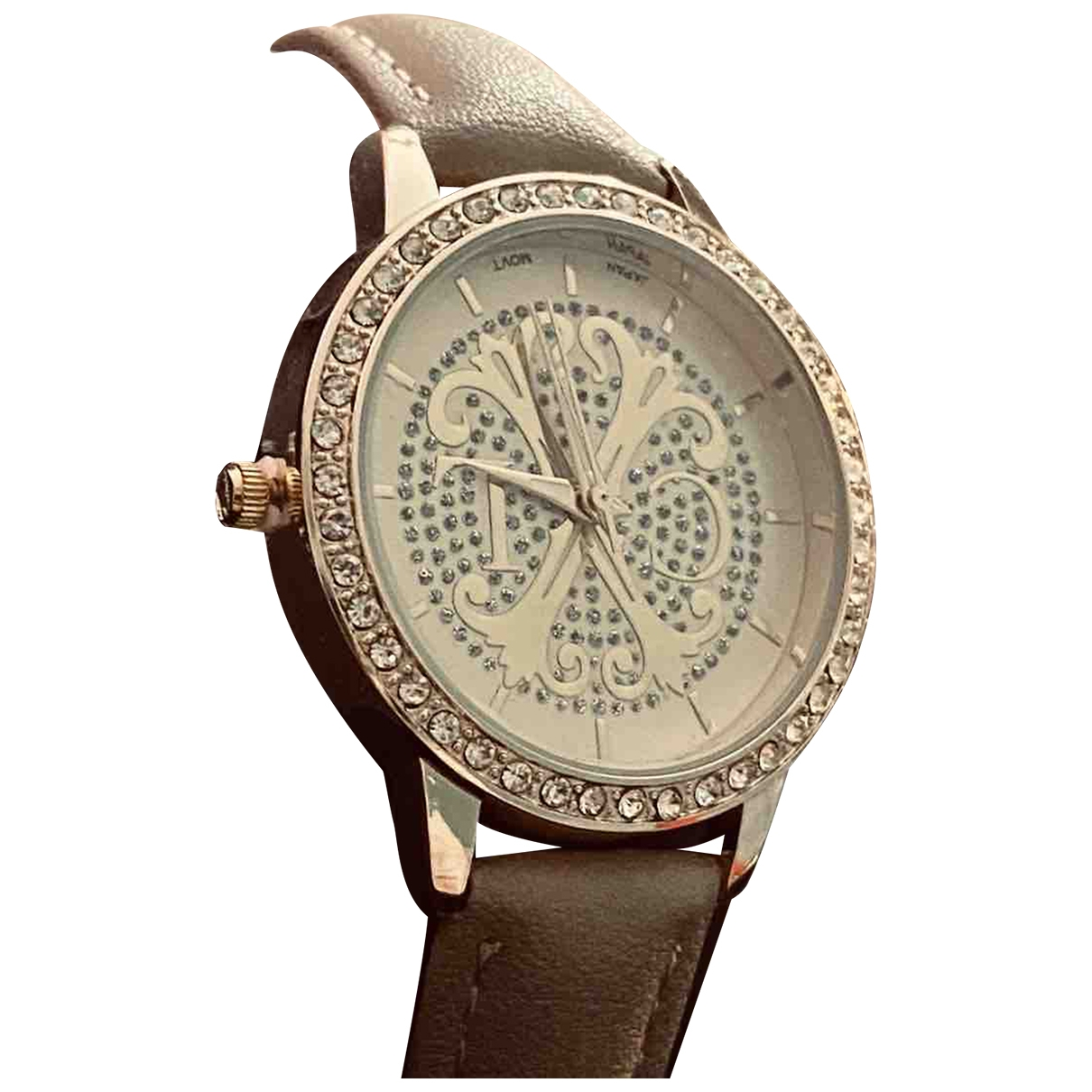 Christian Lacroix \N Silver Steel watch for Women \N