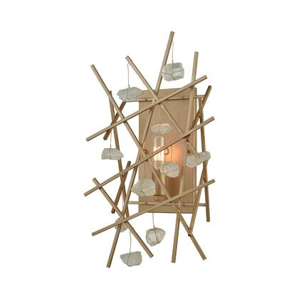 D3562 Massive Impact Wall Sconce  In Antique
