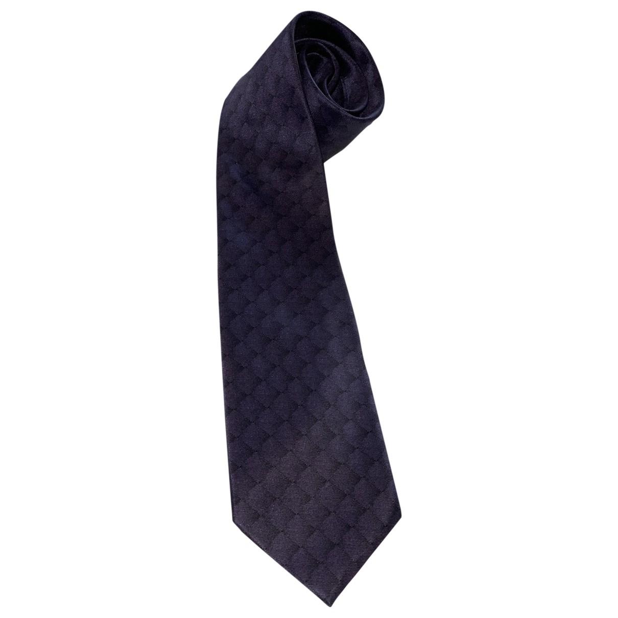 S.t. Dupont \N Krawatten in  Lila Seide