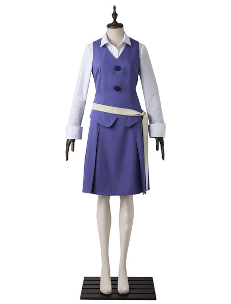 Milanoo Little Witch Academia Sucy Manbavaran Daily Teaching Suit Halloween Cosplay Costume