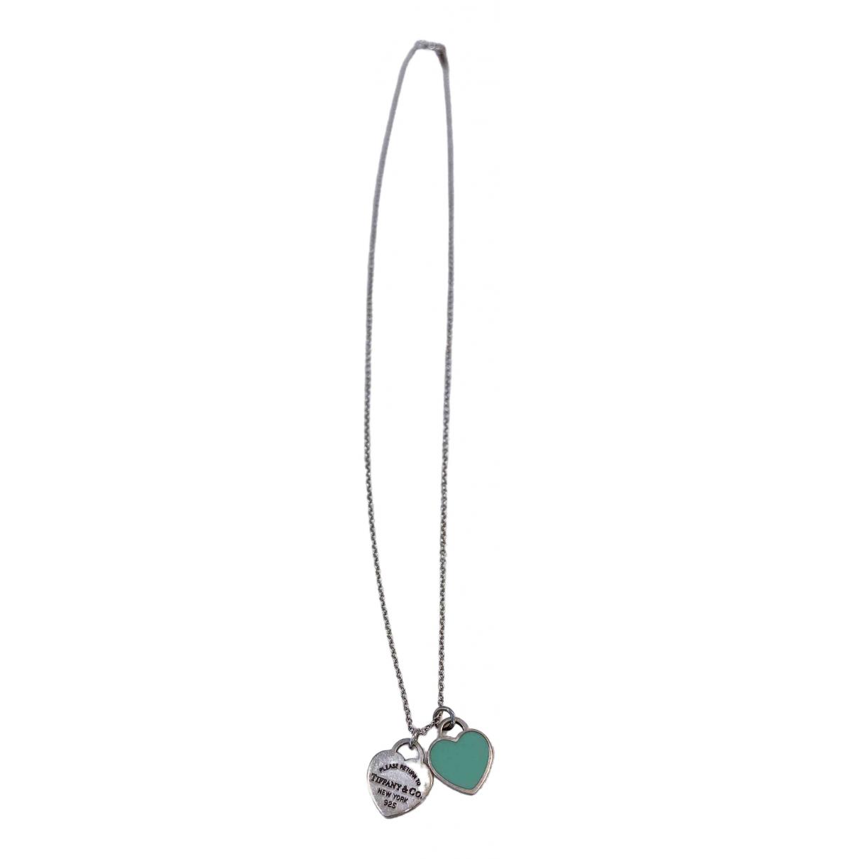 Collar Return to Tiffany de Plata Tiffany & Co