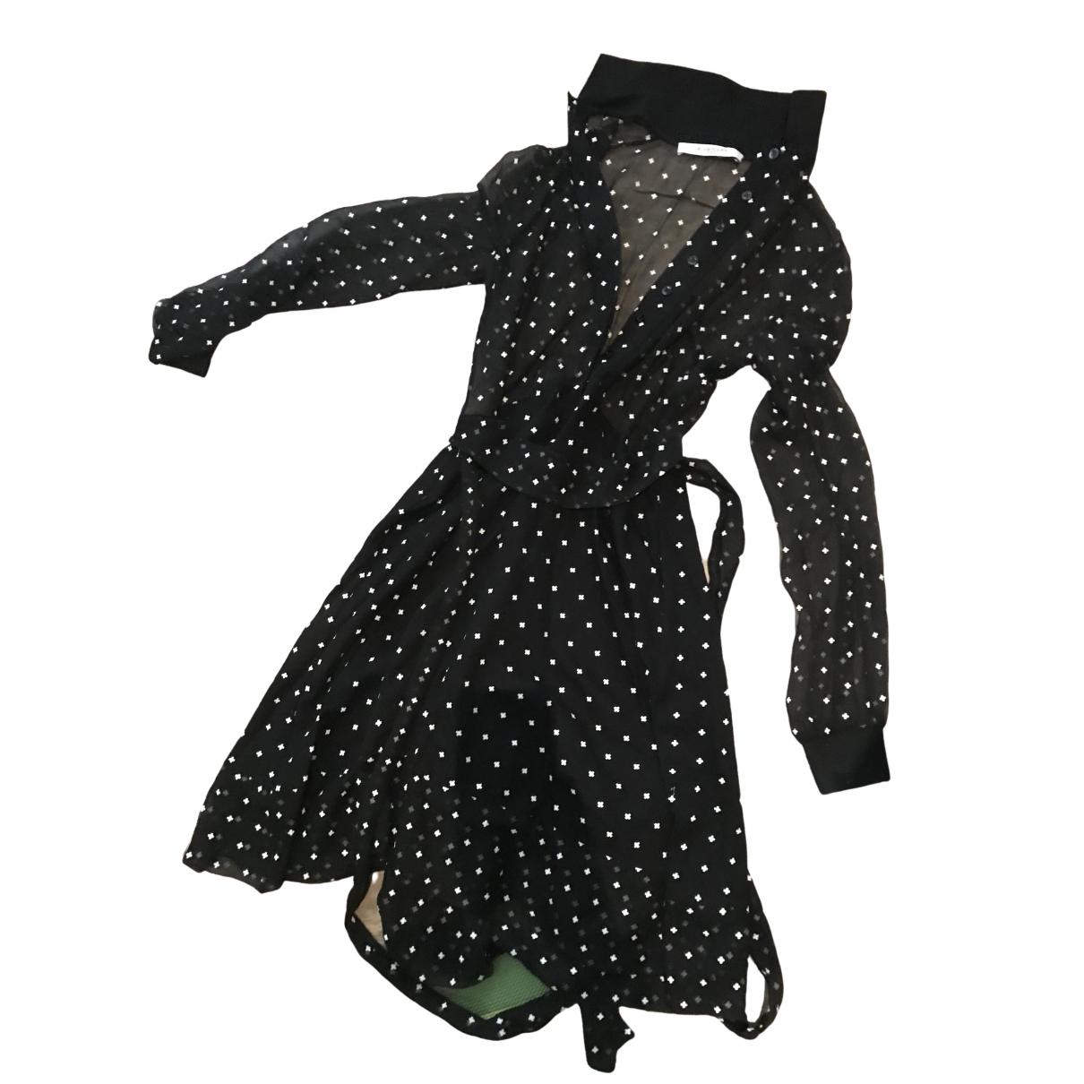Vestido midi de Seda Givenchy