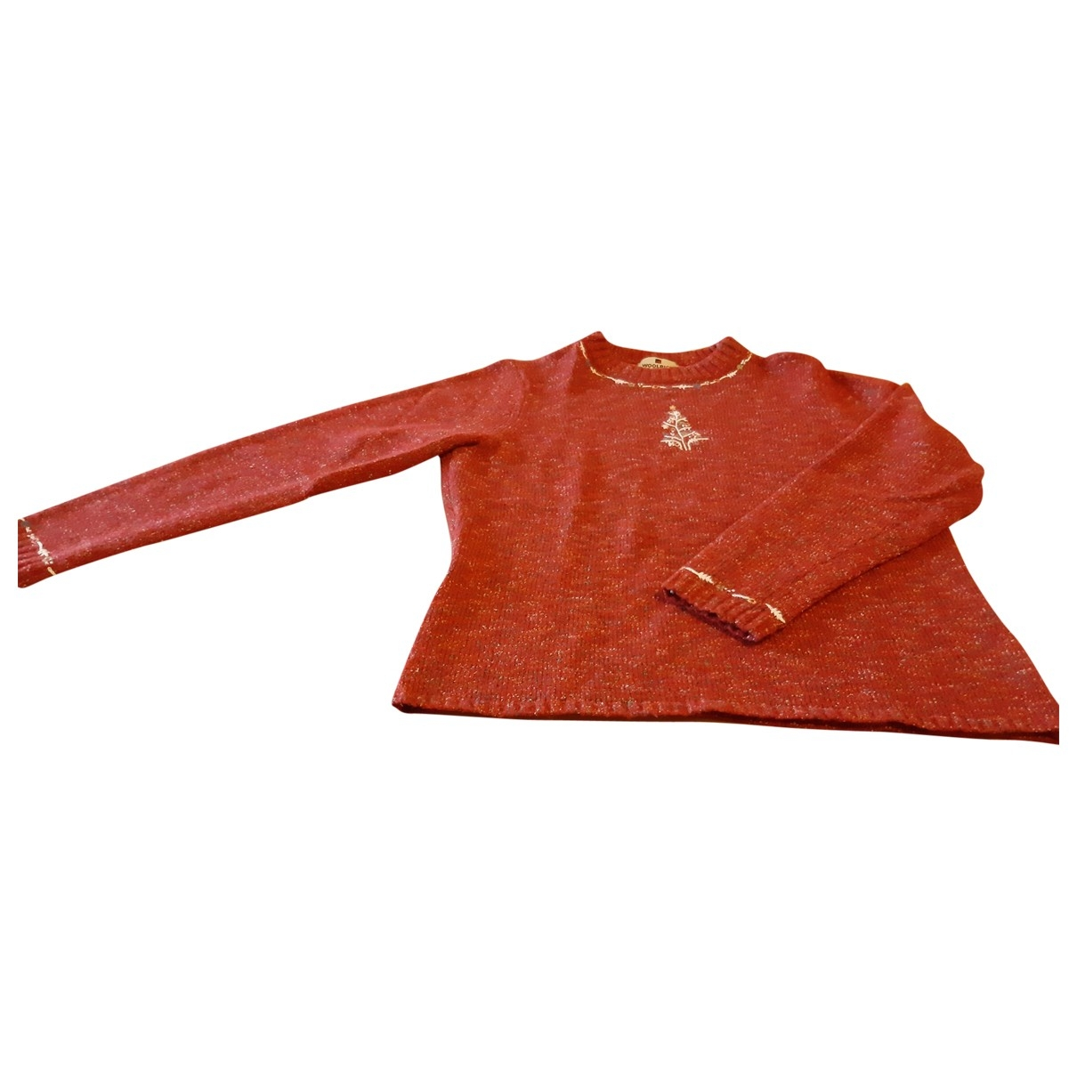 Woolrich \N Pullover in  Bordeauxrot Wolle