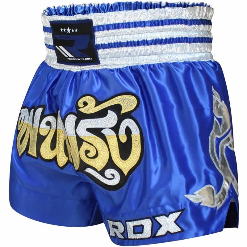 RDX R1 Feuer Satin Muay Thai Kurze Hosen