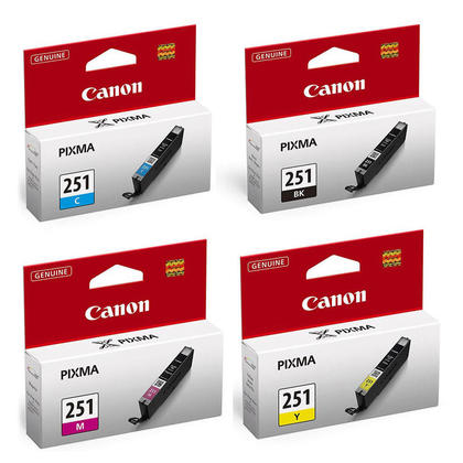 Canon PIXMA MG5522 Original Ink Cartridges BK/C/M/Y Combo, 4 pack - Standard Yield