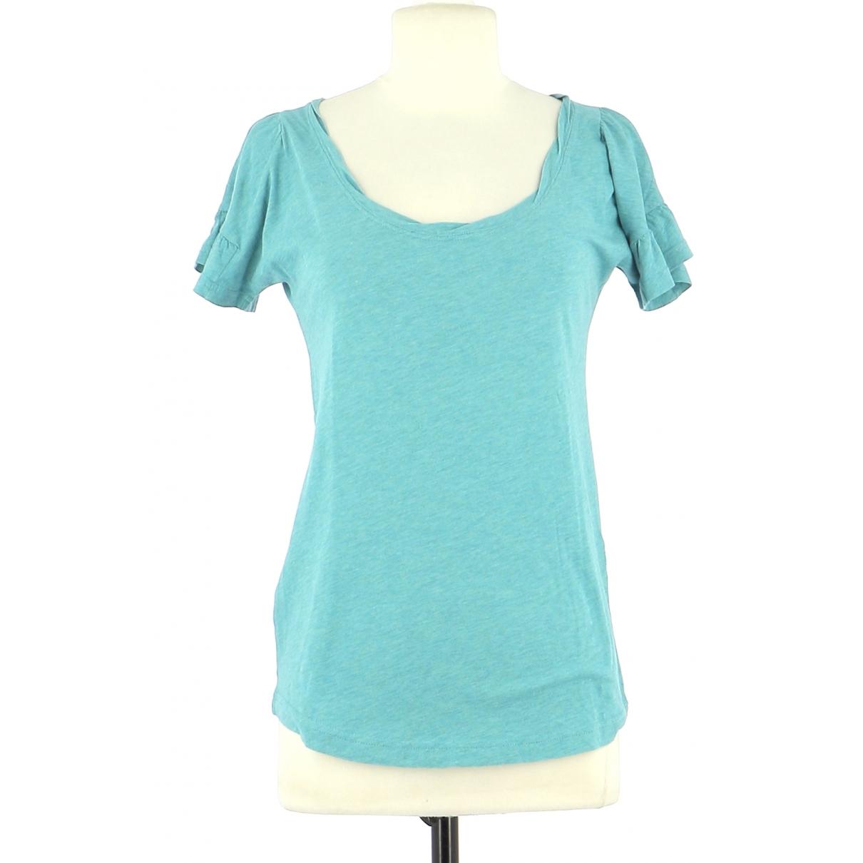 Marc By Marc Jacobs - Top   pour femme en coton - turquoise