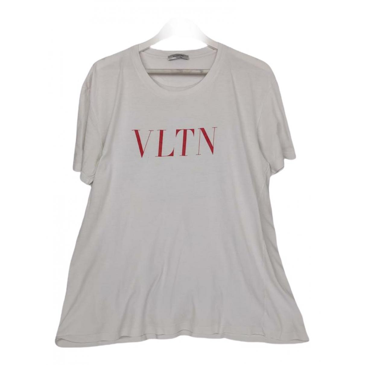 Valentino Garavani \N White Cotton T-shirts for Men XL International