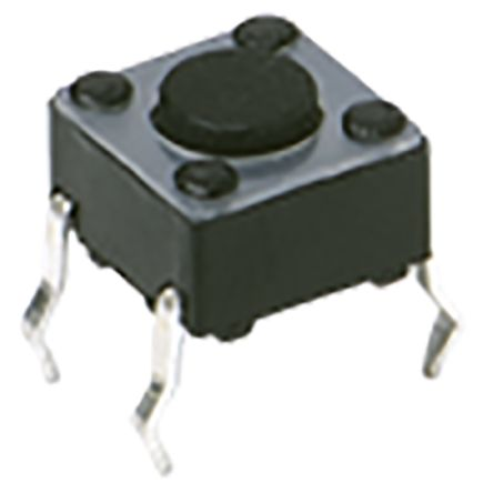 C & K IP40 Top Tactile Switch, Single Pole Single Throw (SPST) 50 mA 1.05mm Surface Mount