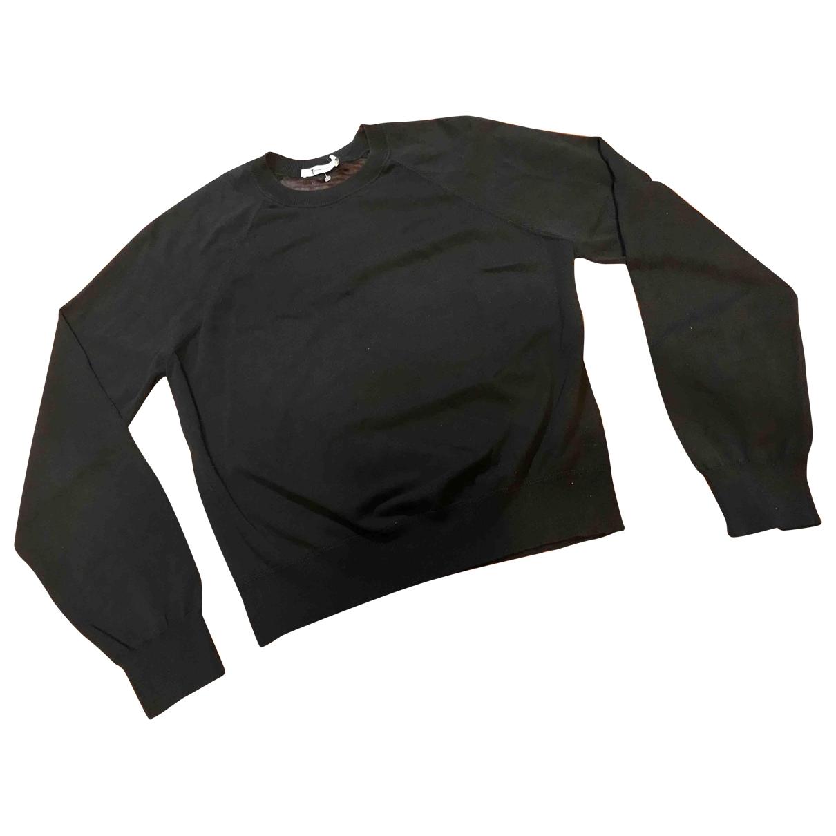 T By Alexander Wang \N Black Cotton Knitwear for Women L International