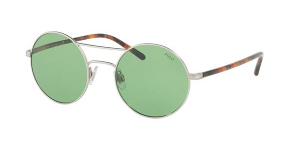 Polo Ralph Lauren PH3108 932671 Women's Sunglasses Silver Size 51