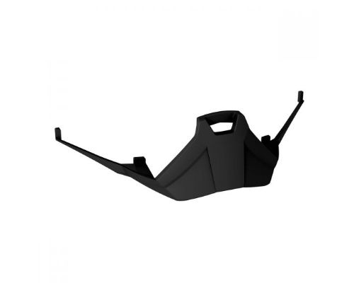 Leatt 8020003100 Black Velocity 4.5/5.5/6.5 SNX Nose Deflector