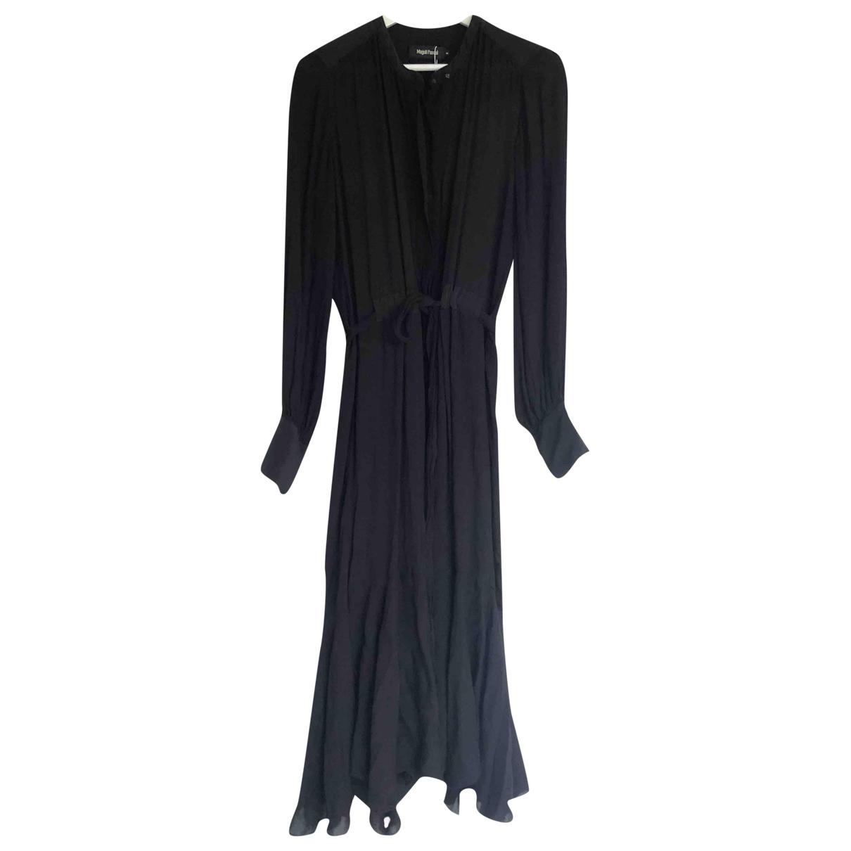 Magali Pascal \N Kleid in  Schwarz Viskose