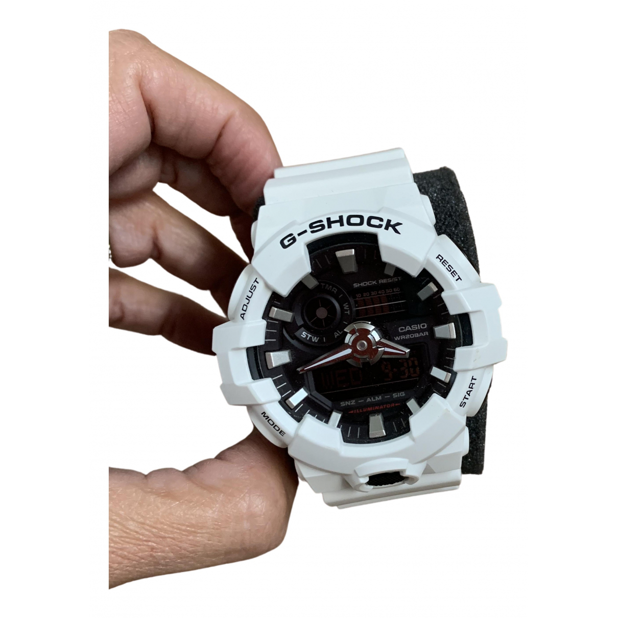 G-shock N White Rubber watch for Men N