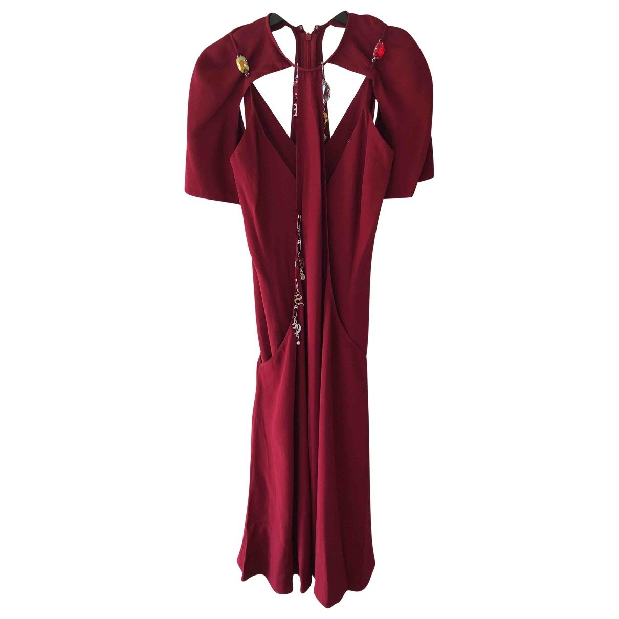 Christopher Kane \N Burgundy dress for Women 10 UK