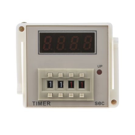 RS PRO SPDT Time Delay Relay - 99.99 s, 1 Contacts, Power On Delay, Plug In