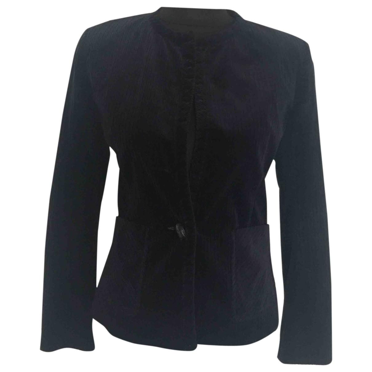 Isabel Marant Etoile \N Blue Velvet jacket for Women 36 FR