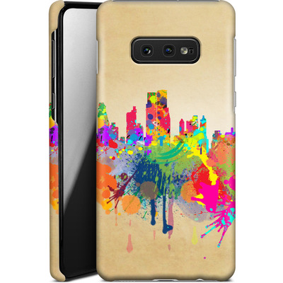 Samsung Galaxy S10e Smartphone Huelle - New York Skyline von Mark Ashkenazi