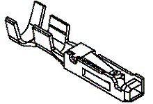 Molex Female PCB Terminal 22 5016471000 (50)