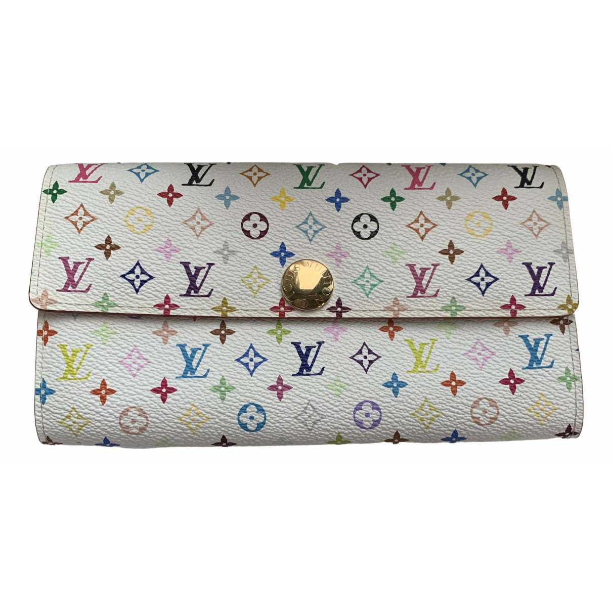 Louis Vuitton Sarah White Cloth wallet for Women \N
