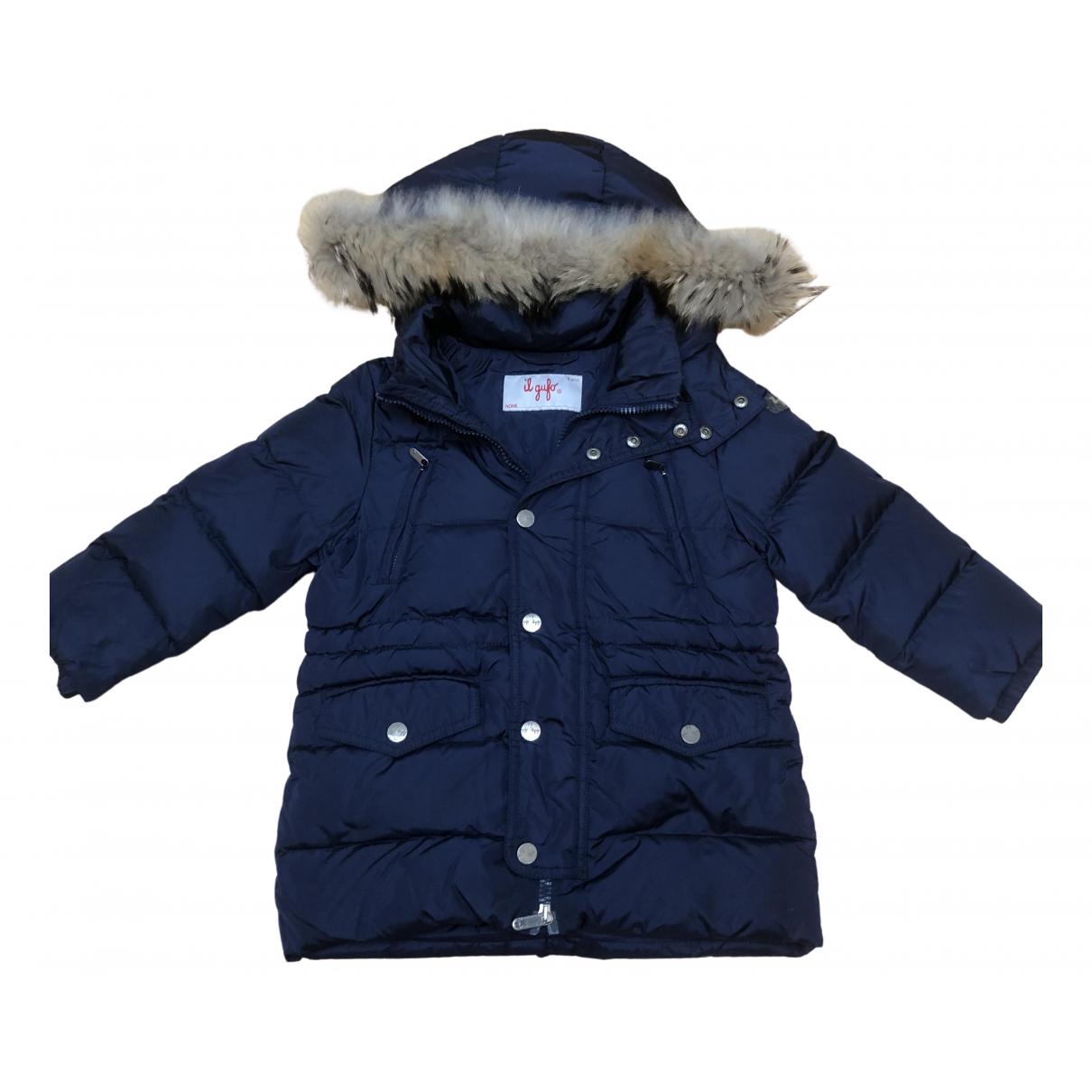 Il Gufo - Blousons.Manteaux   pour enfant - marine