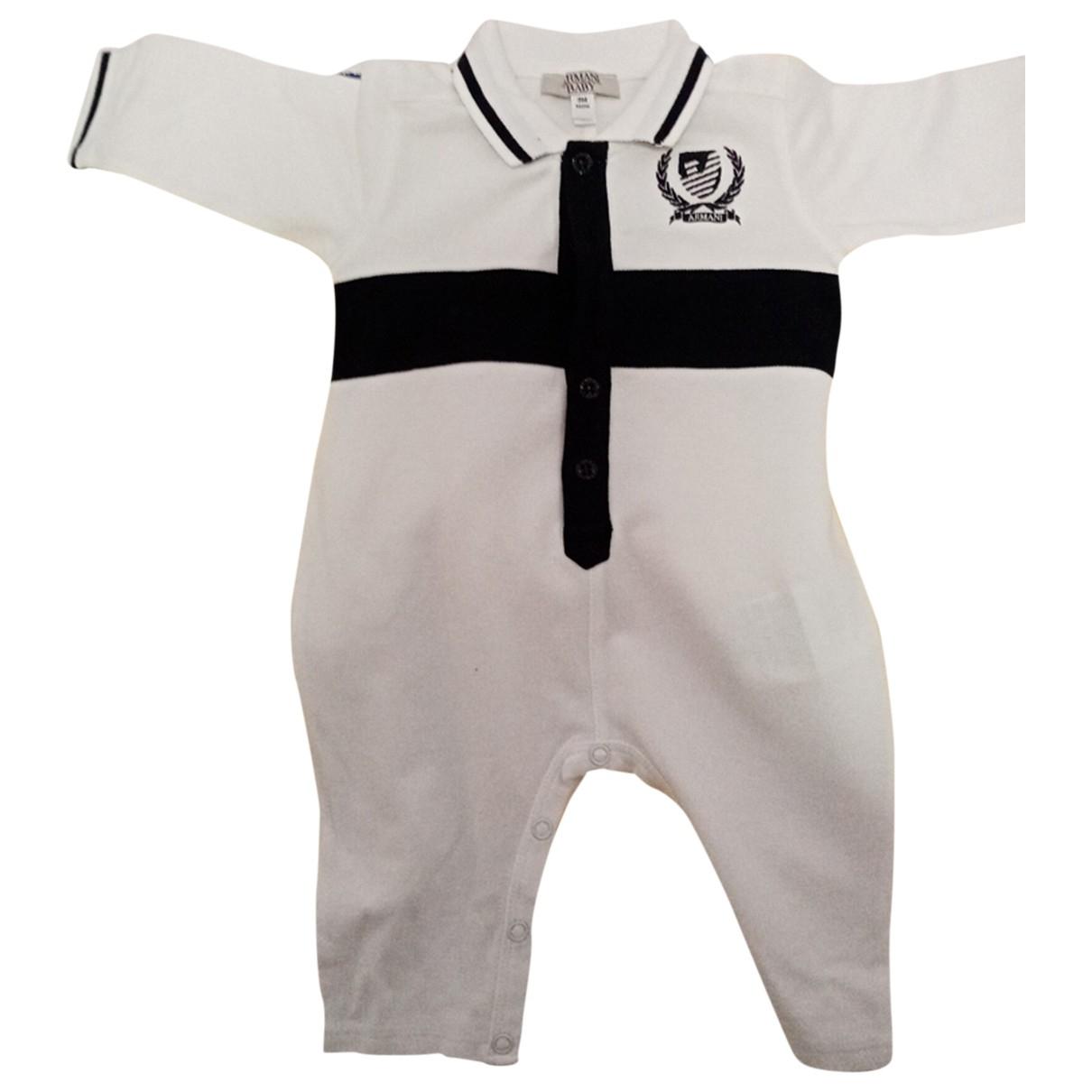 Armani Baby - Les ensembles   pour enfant en coton - blanc