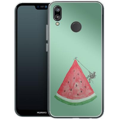 Huawei P20 Lite Silikon Handyhuelle - Summer Climb von Enkel Dika