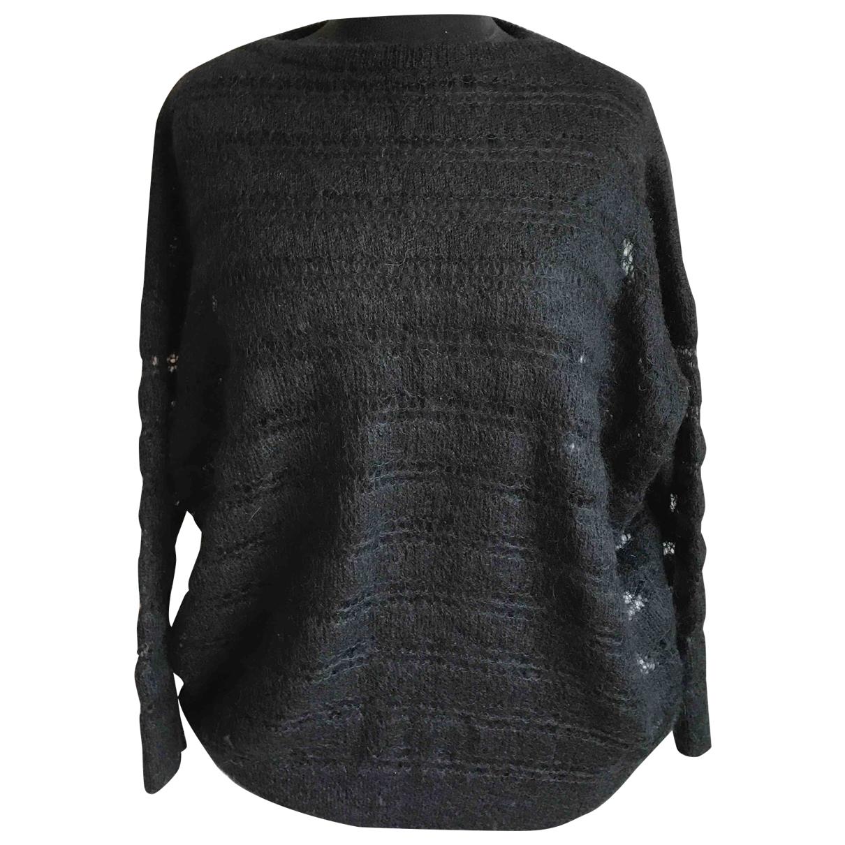 Saint Laurent \N Pullover in  Schwarz Wolle