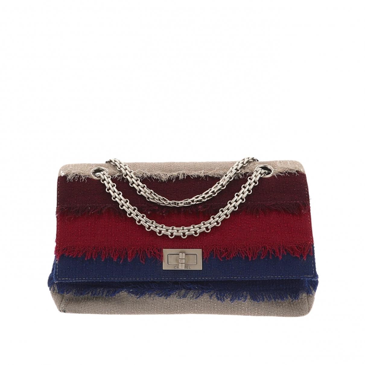 Chanel 2.55 Multicolour Tweed handbag for Women \N