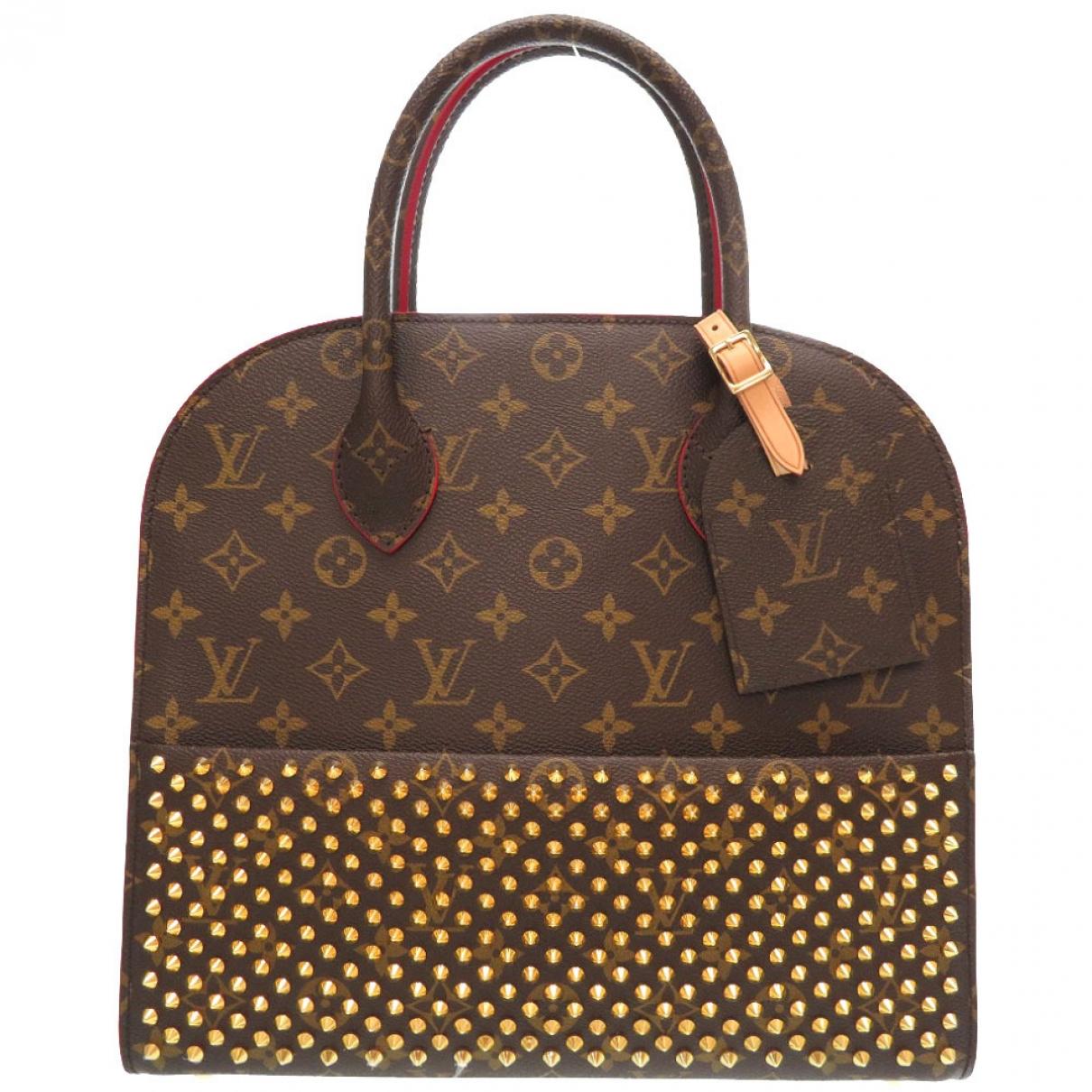 Louis Vuitton Iconoclasts Brown Cloth handbag for Women \N