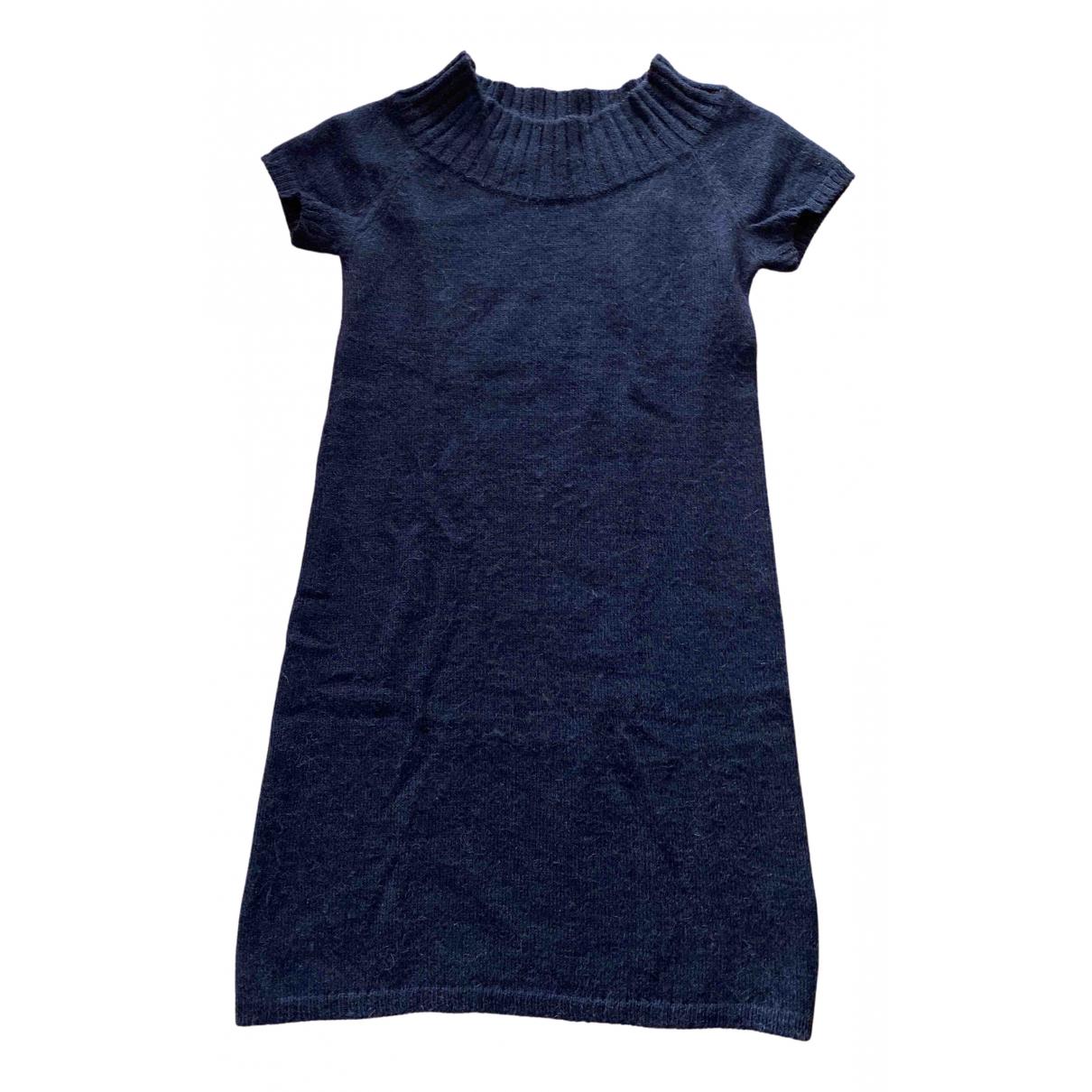 Jucca \N Kleid in  Braun Wolle