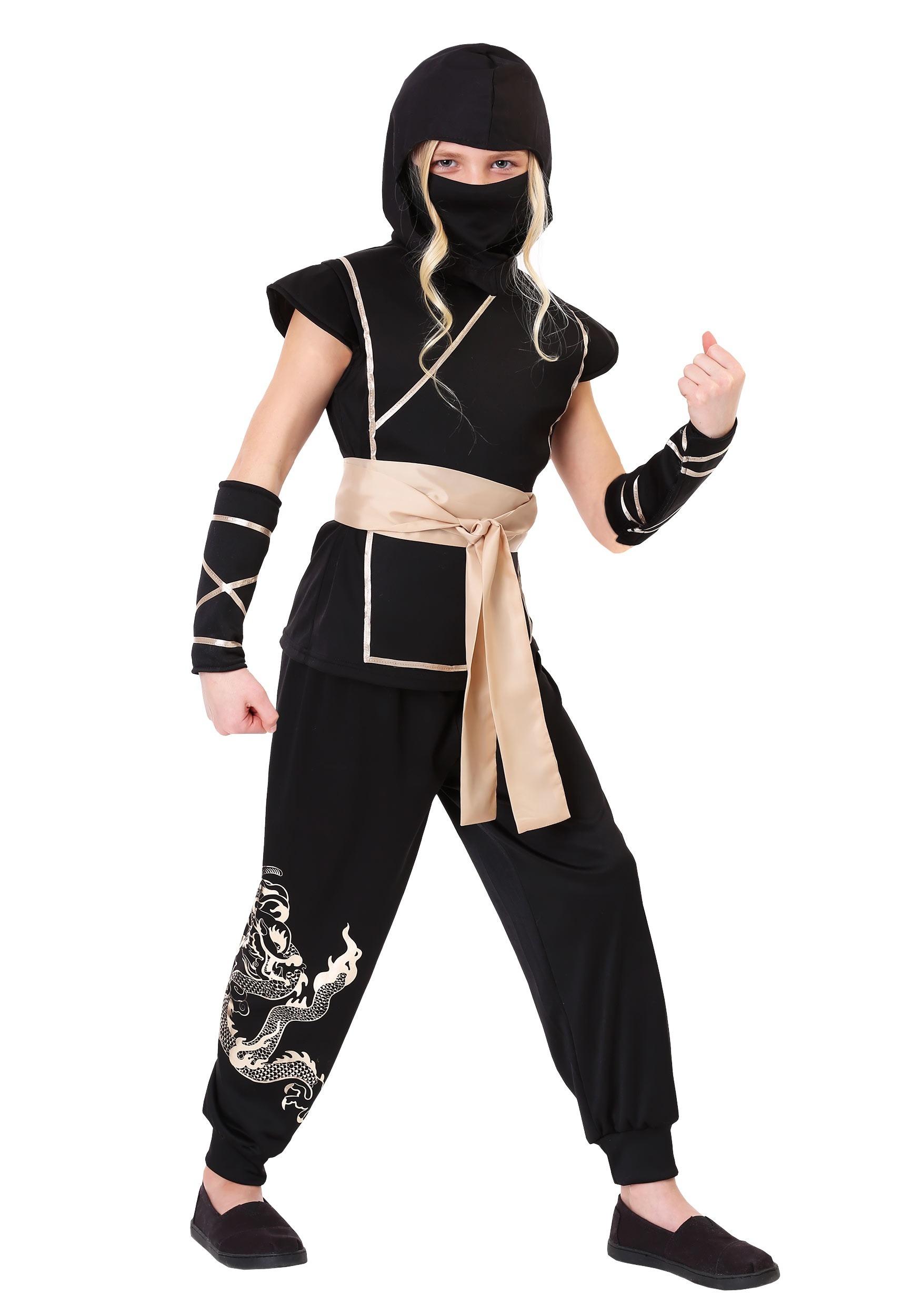 Guardian Ninja Costume for Girls