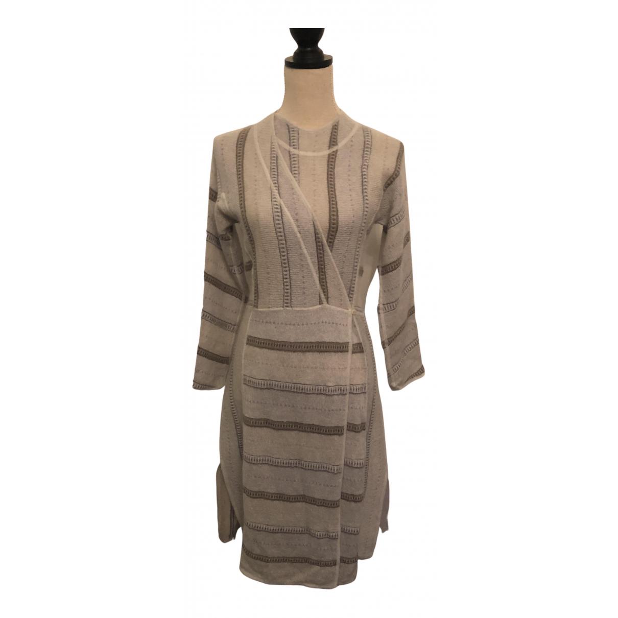 Giorgio Armani N Multicolour Wool dress for Women 44 IT