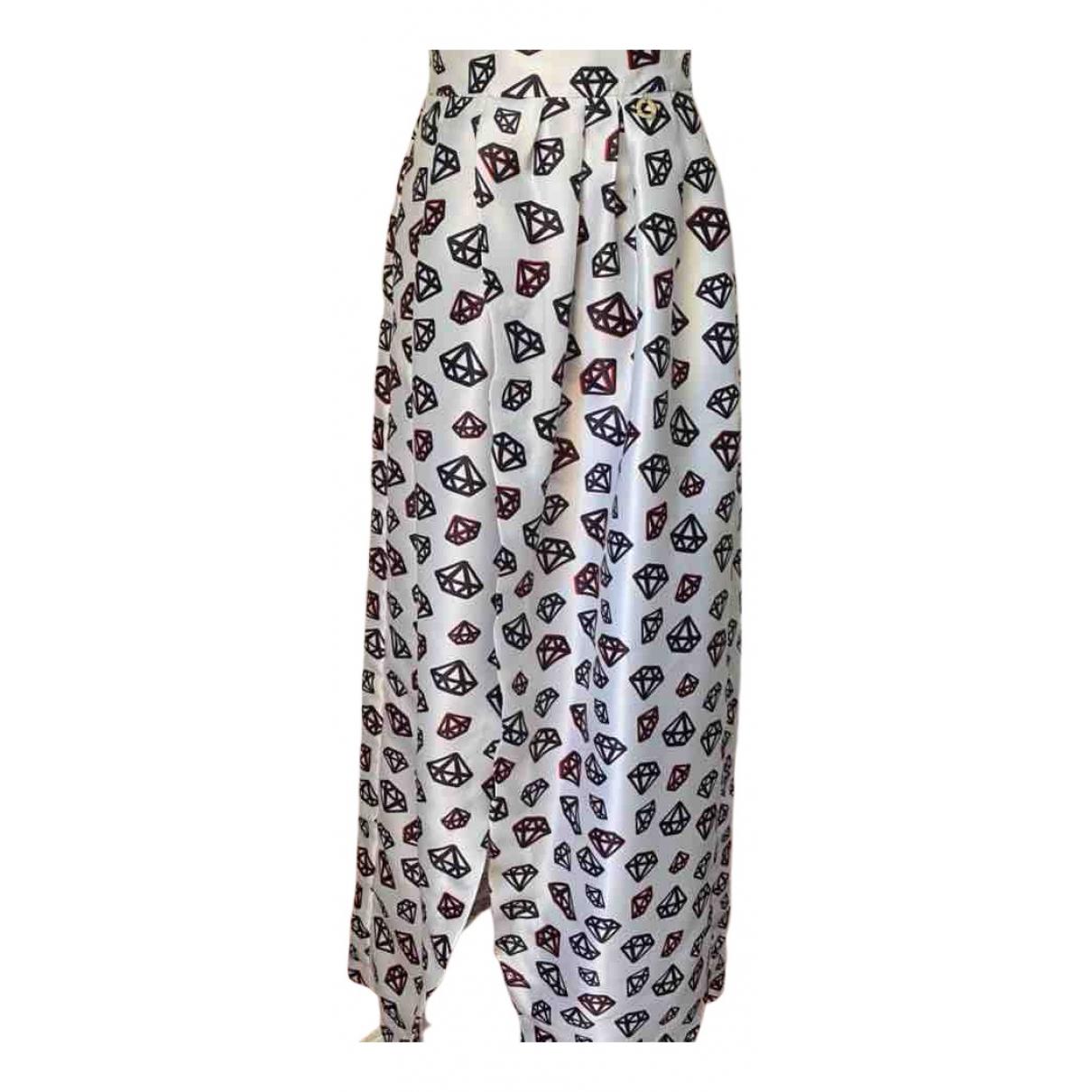 Mangano N White skirt for Women 40 IT