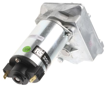Crouzet , 12 V dc, 1.2 Nm DC Geared Motor, Output Speed 20 rpm