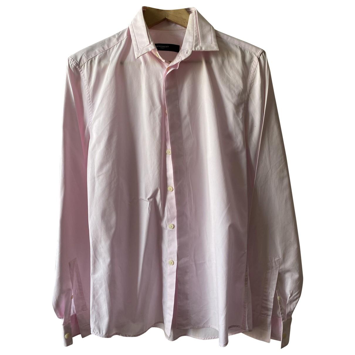 Givenchy \N Hemden in  Rosa Baumwolle