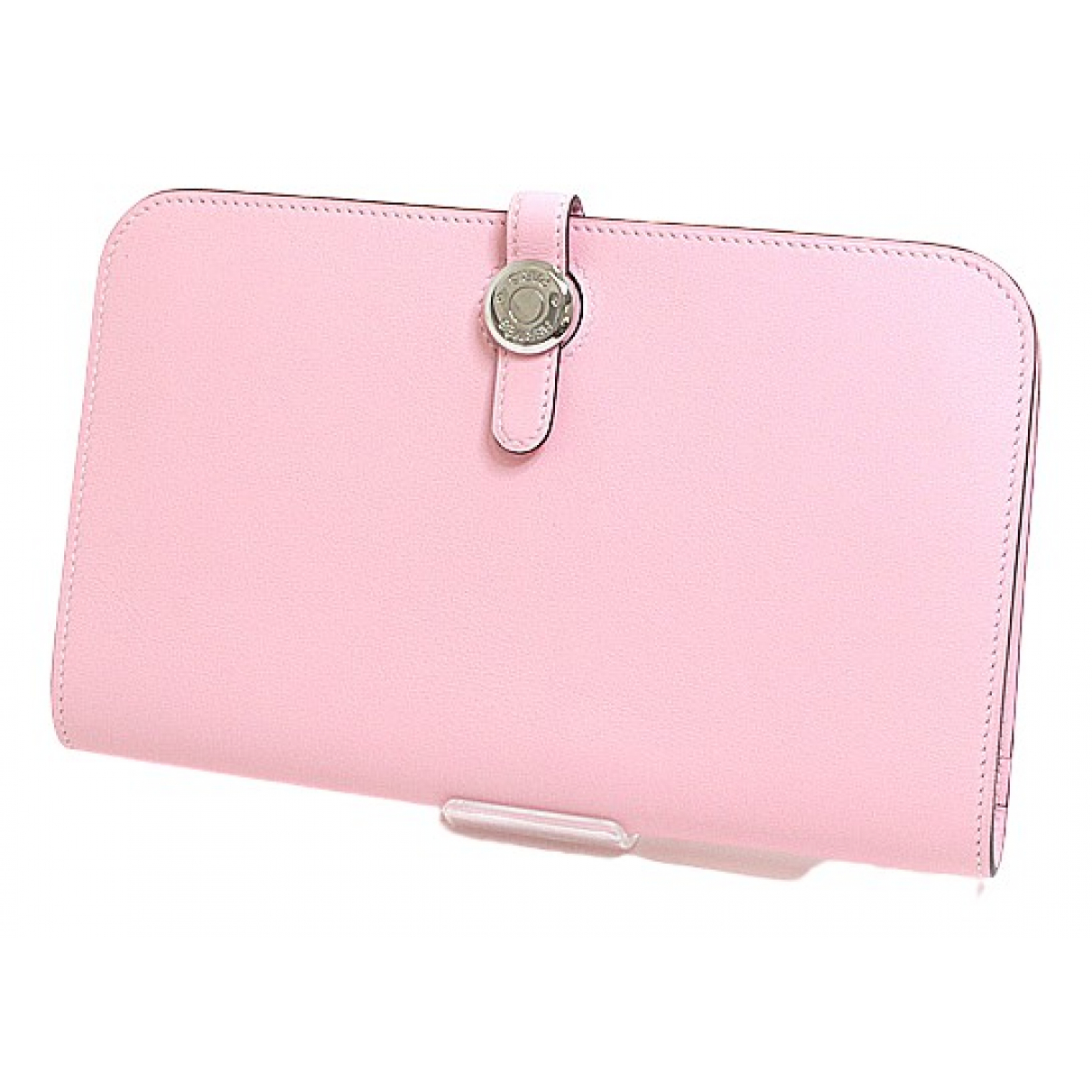 Hermès Dogon Pink Leather wallet for Women N