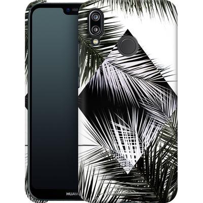 Huawei P20 Lite Smartphone Huelle - Palm Leaves 3 Geometry 2 von Mareike Bohmer