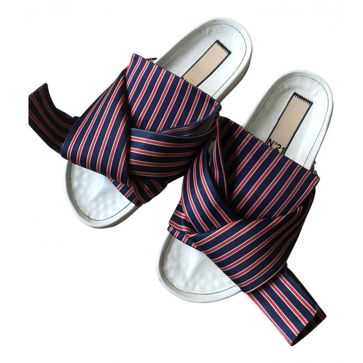 N°21 N Multicolour Cloth Sandals for Women 36 EU