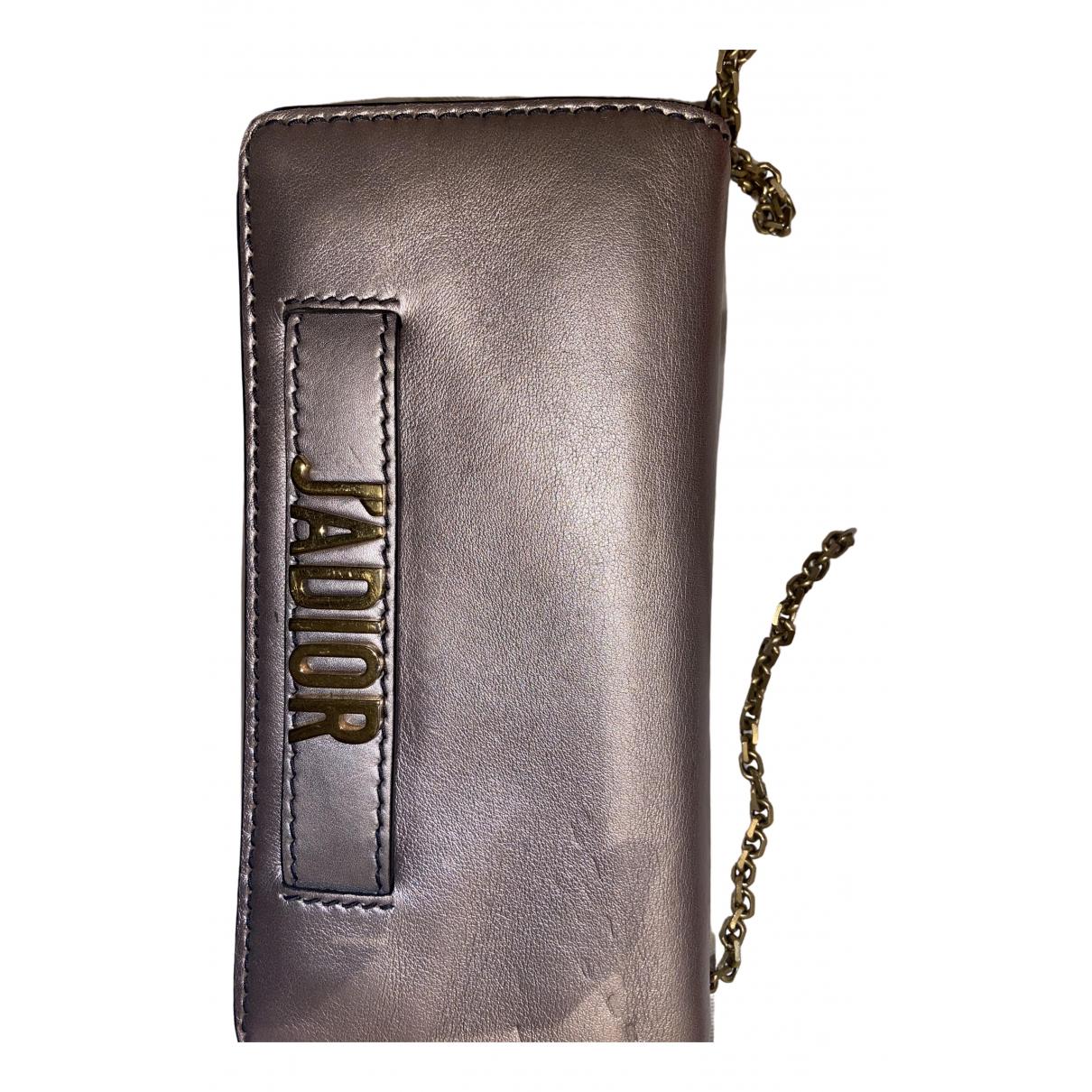 Dior Jadior Clutch in  Metallic Lackleder