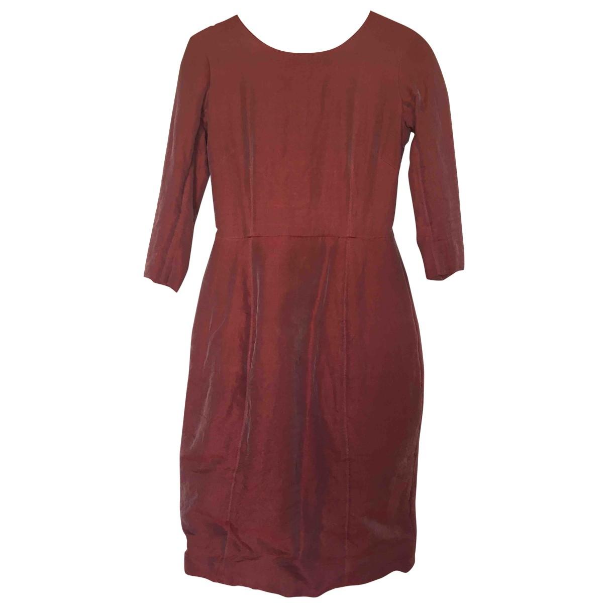Paul Harnden Shoemakers \N Kleid in  Rot Seide