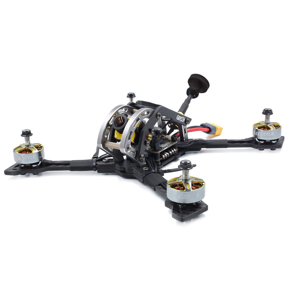 GEPRC Mark3 H5 225mm 5 Inch 2-5S FPV Racing Drone BNF/PNP SPAN F4 40A Blheli_S DSHOT600 ESC 25~600mW VTX Caddx Ratel Cam