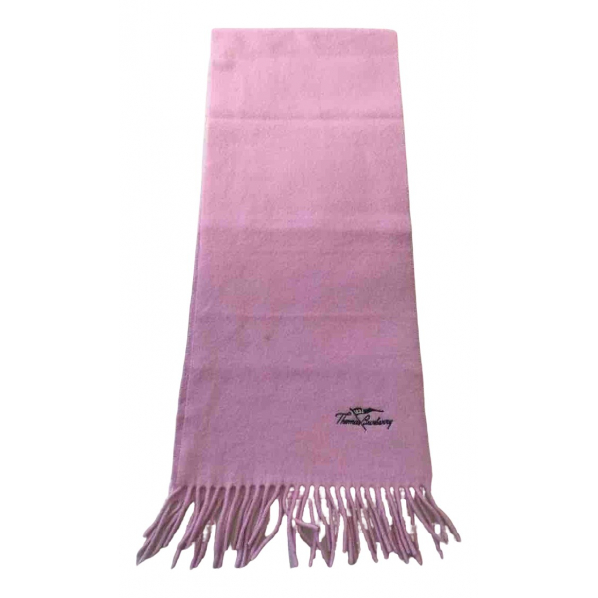 Burberry \N Schal in  Rosa Wolle