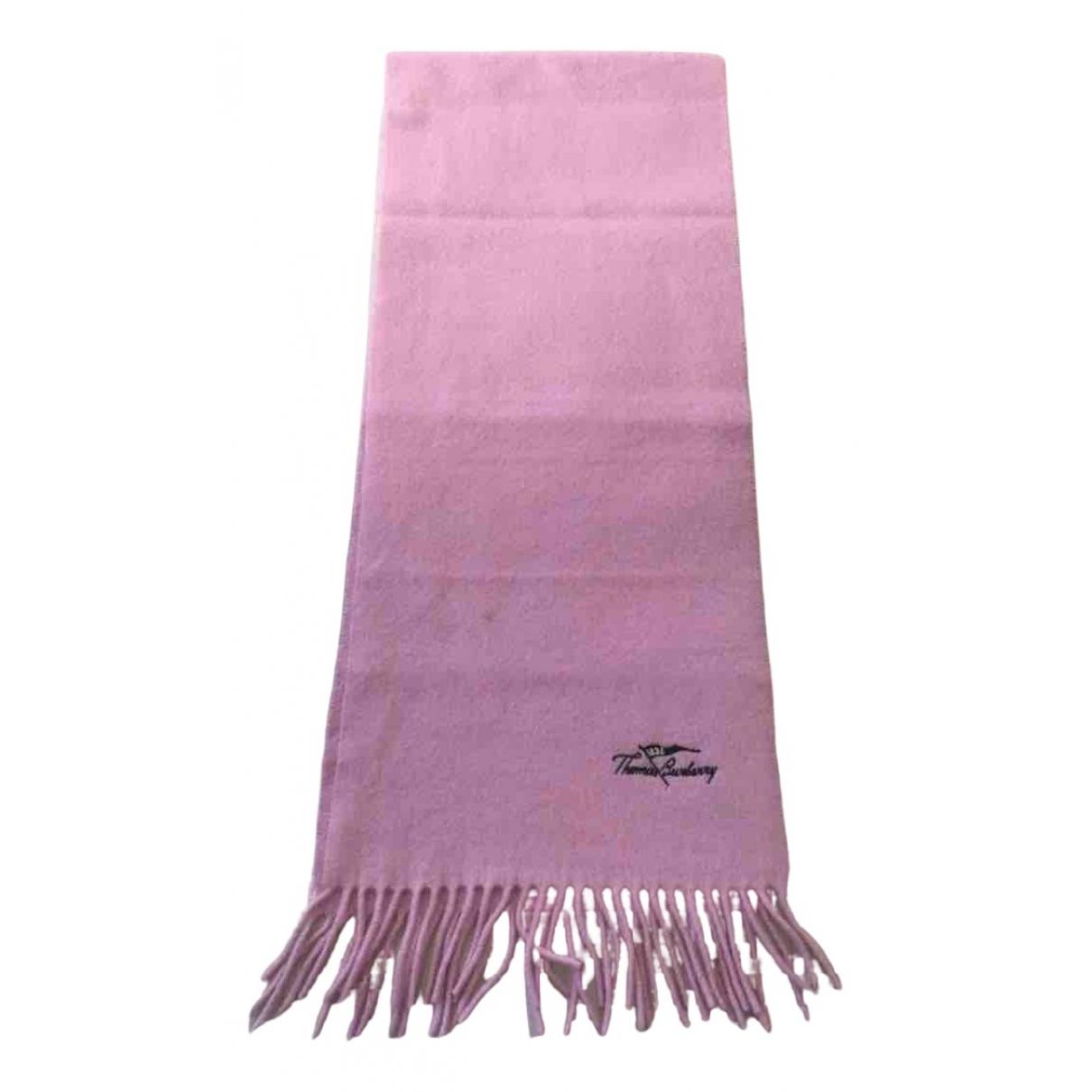 Burberry N Pink Wool scarf for Women N