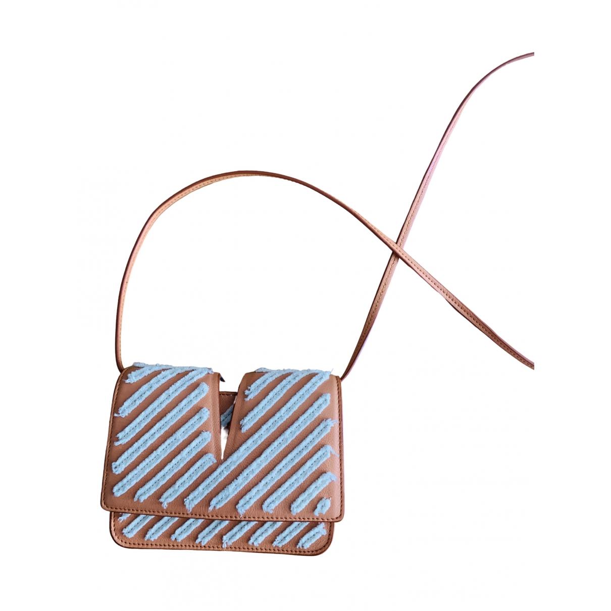 Jil Sander \N Orange Leather Clutch bag for Women \N