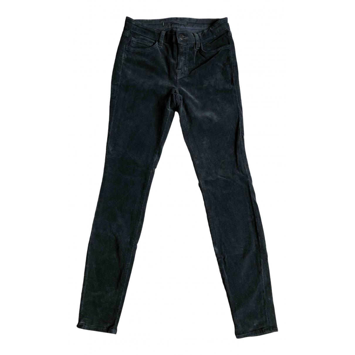 J Brand - Pantalon   pour femme en coton - vert